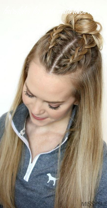 Classy and simple hairstyle ideas for thick hair #hairinspiration