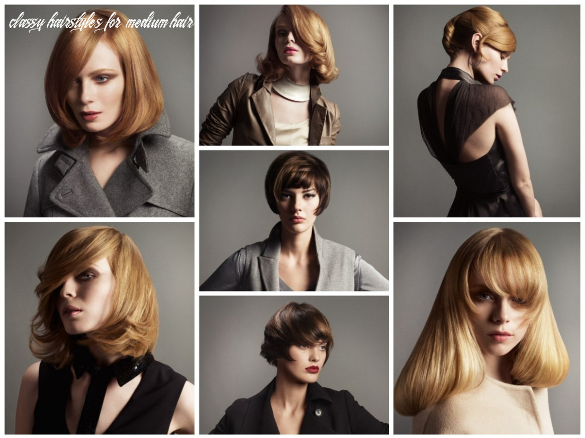 Classy hairstyles for short, medium and long hair with focus on bangs classy hairstyles for medium hair