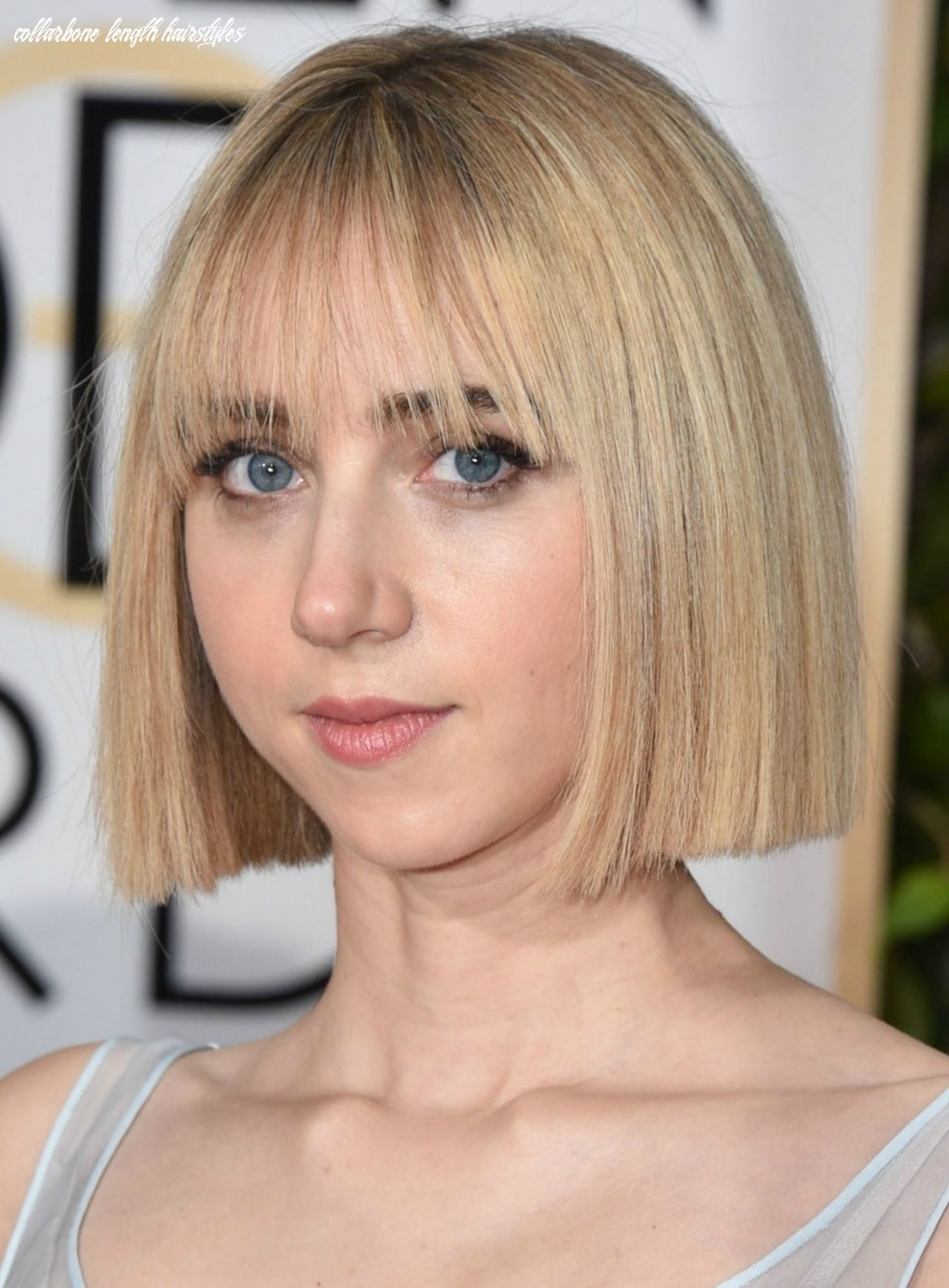 Collarbone length hairstyles with bangs women hair cuts collarbone length hairstyles