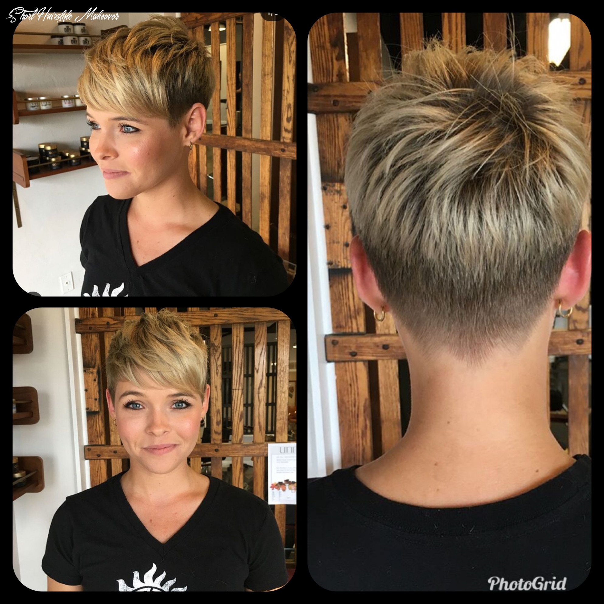 Color idea to make my too short hair look less awful!   cool short