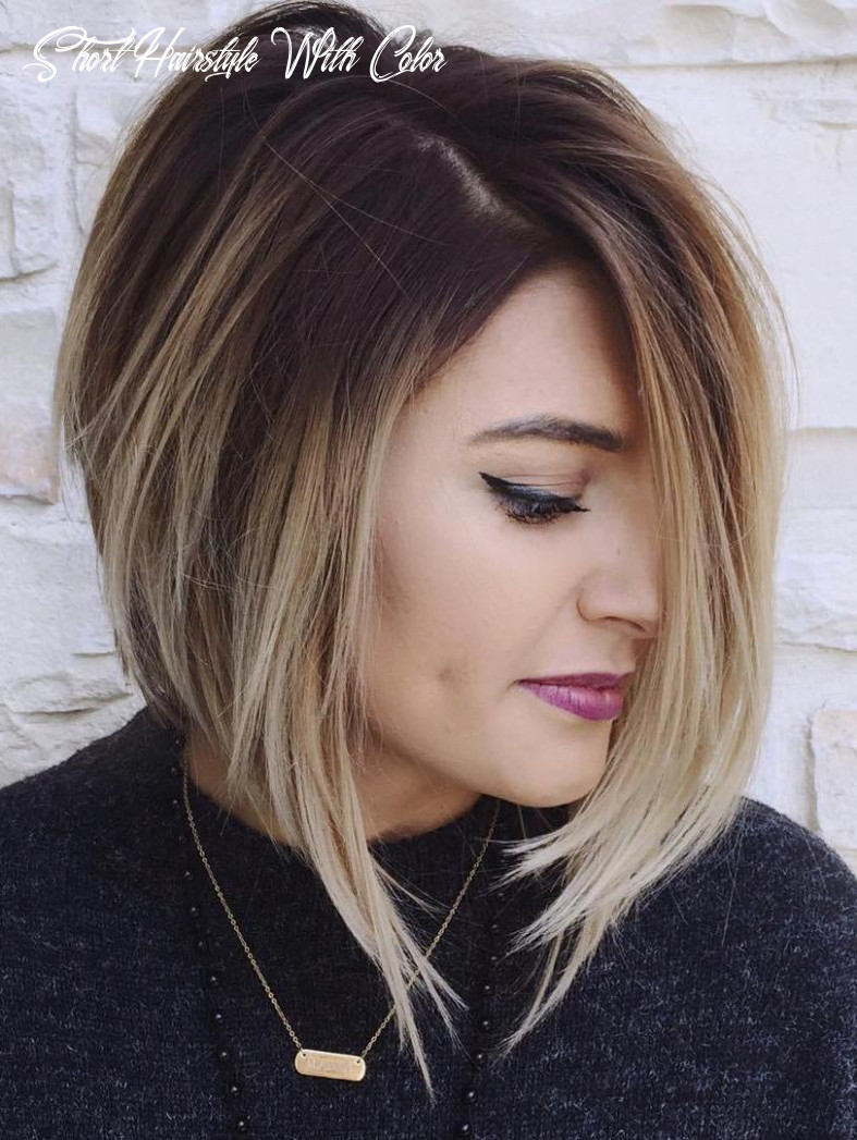 Colored short hairstyles 8 unique hair color ideas | hairdo