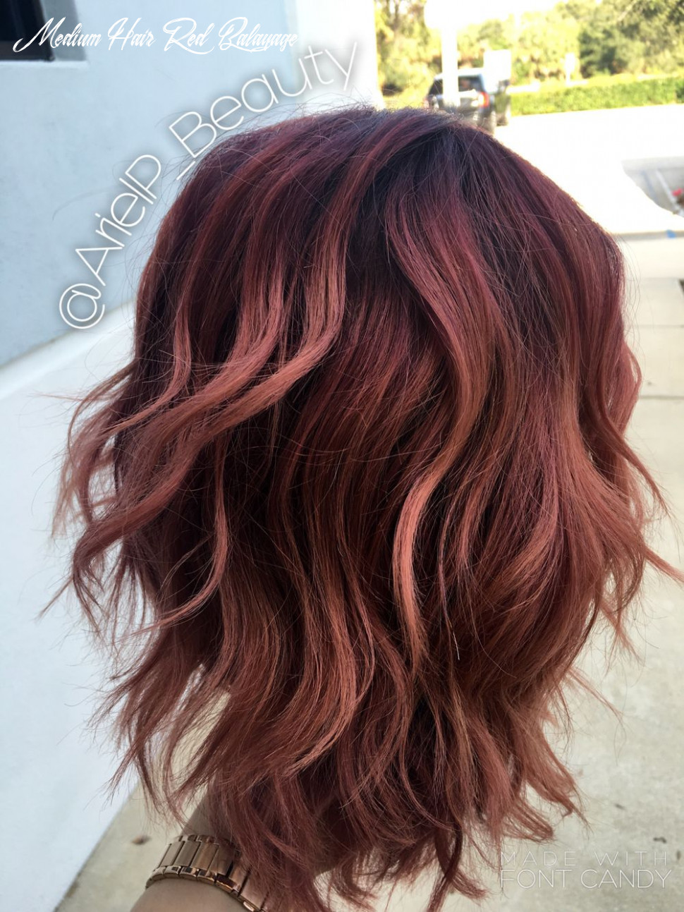 Colormelt/balayage/baliage/ombre/pink/purple/plum/colored hair
