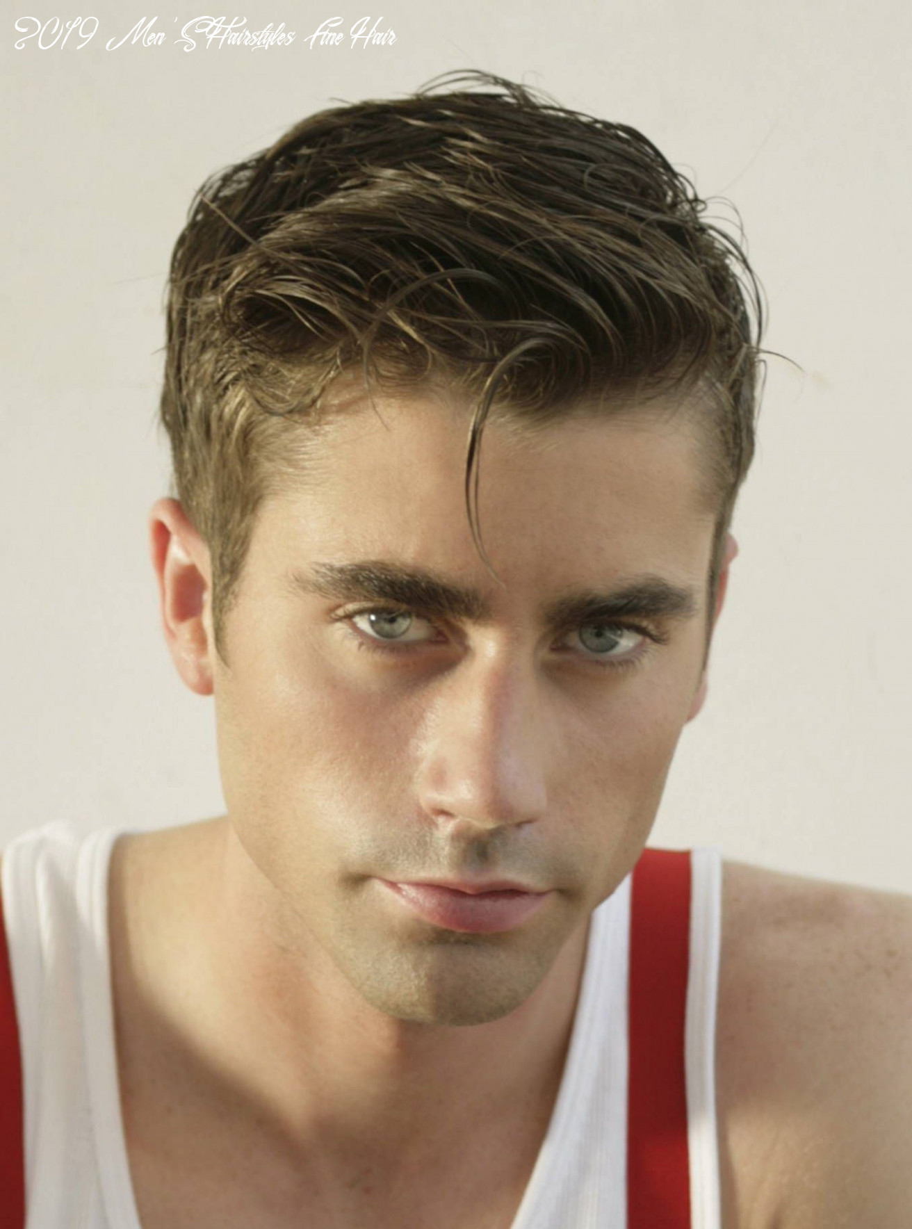 Completely new short hairstyles for men with fine straight hair