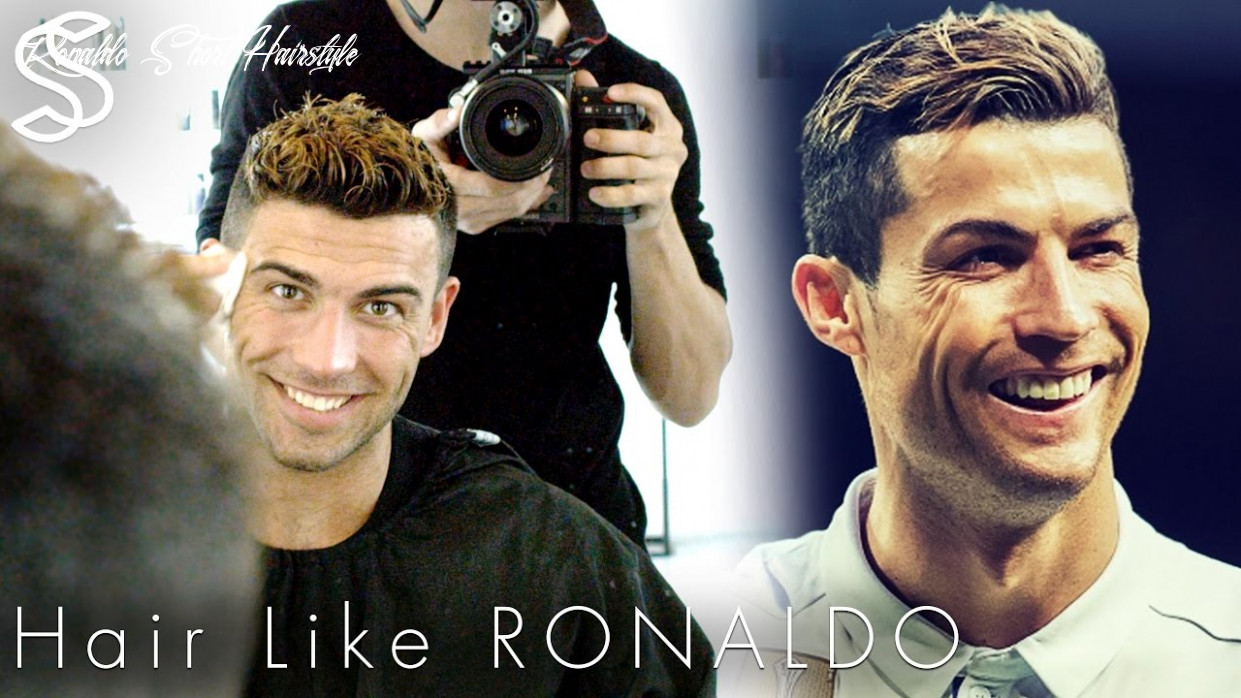 Cristiano ronaldo hairstyle 12 & short summer haircut with color for men ronaldo short hairstyle