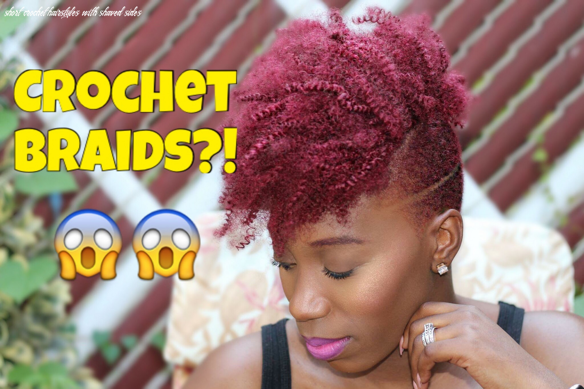 Crochet hairstyles with the sides shaved off - Hairstyles for Women