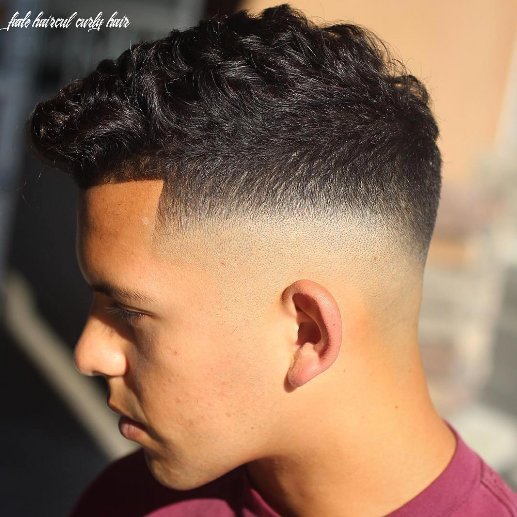 Curly hair: the best haircuts hairstyles for men (11 styles) fade haircut curly hair
