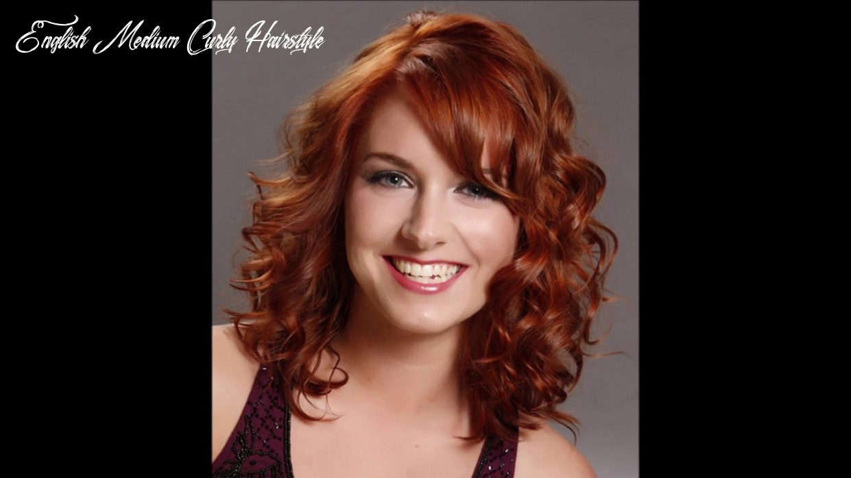 Curly haircuts for wavy and curly hair |medium hair|medium length naturally curly hairstyles english medium curly hairstyle
