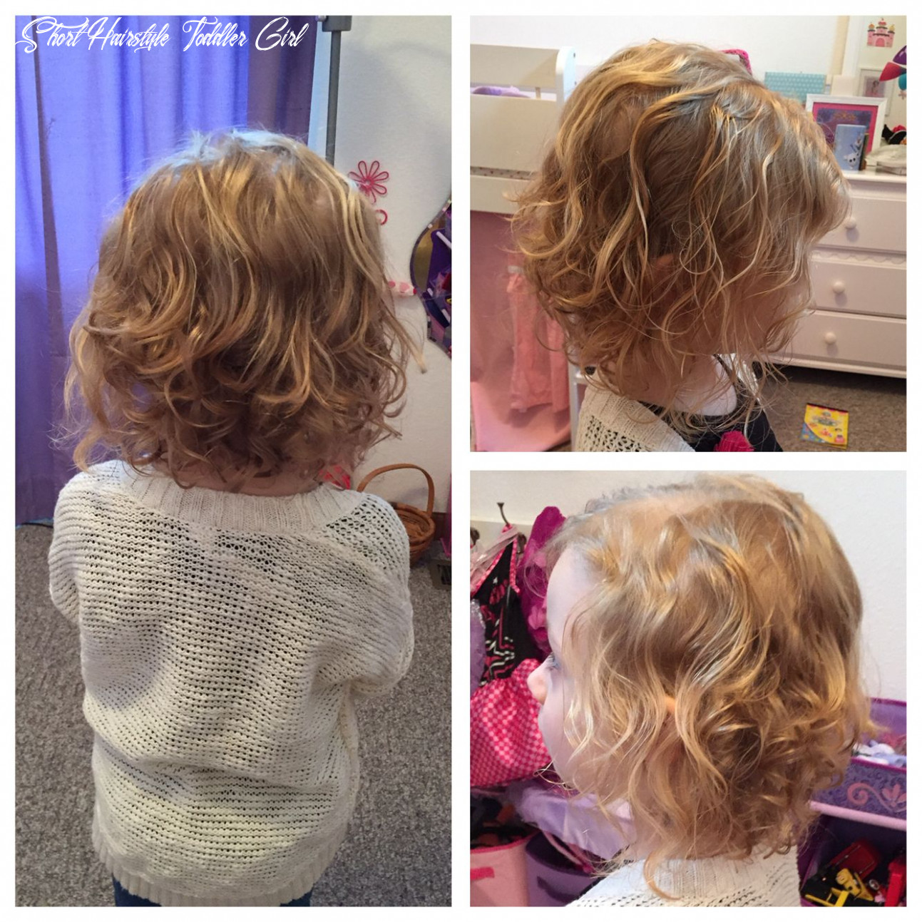 Curly toddler girl hairstyles | little girl short haircuts for