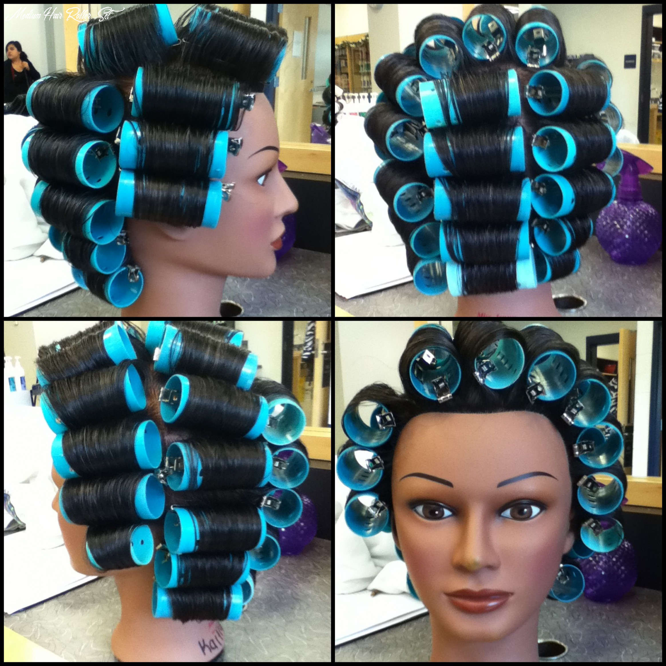Curvature perm wrap   permed hairstyles, perm, hair rollers medium hair roller set