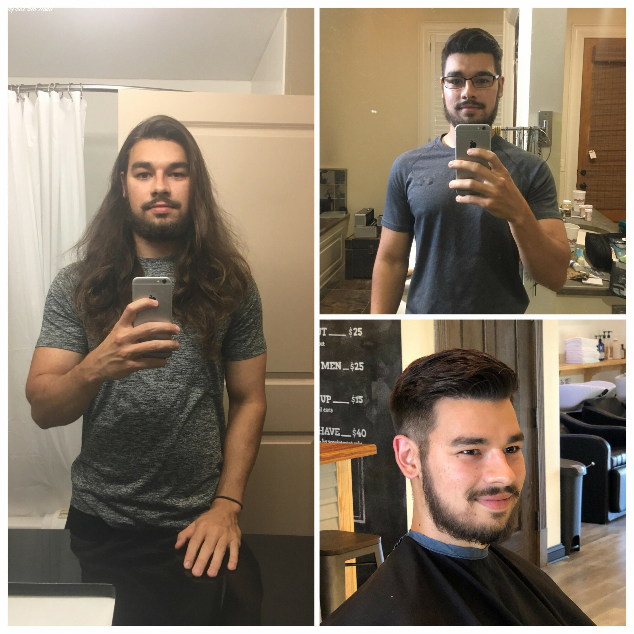 Cut off my flow of 8 and a half years r/malehairadvice said i