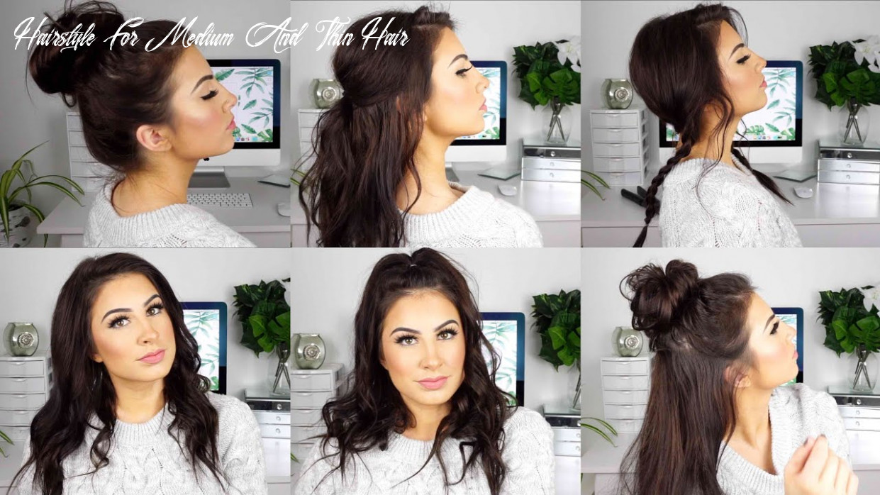 Cute and easy hairstyles for medium thin hair hairstyle for medium and thin hair