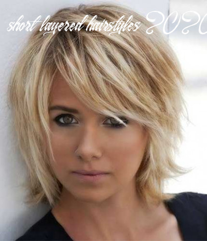 Cute and easy to style short layered hairstyles in 8 | medium
