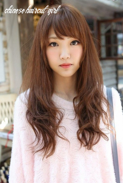 Cute asian long hairstyle with bangs | asian hair, long hair with