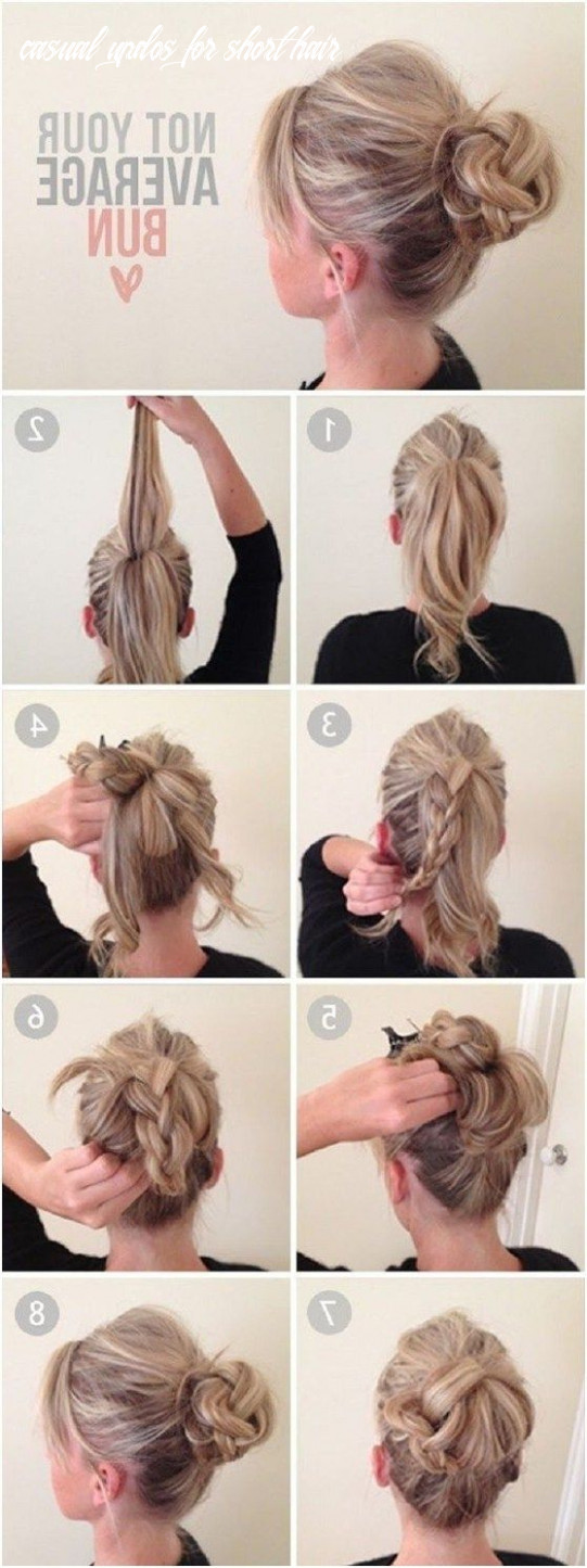Cute casual hairstyles short hair 11 ways to make cute everyday