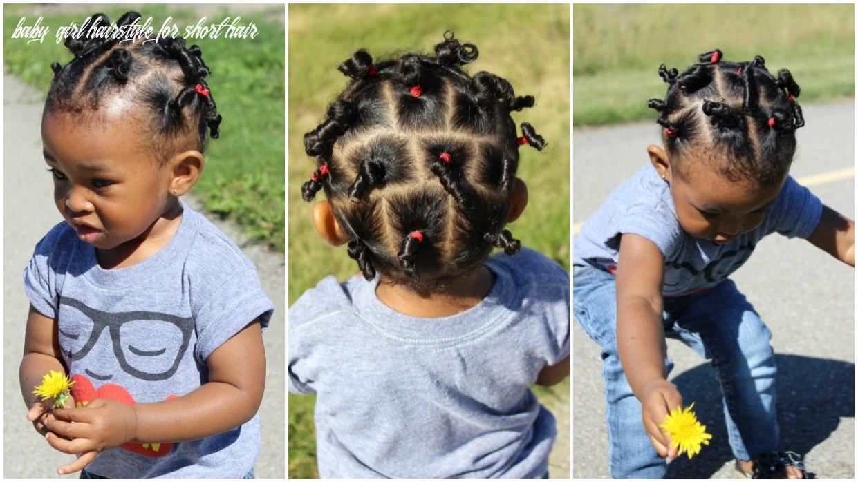 Cute hairstyle for kids with short hair | throwback of sekora baby girl hairstyle for short hair