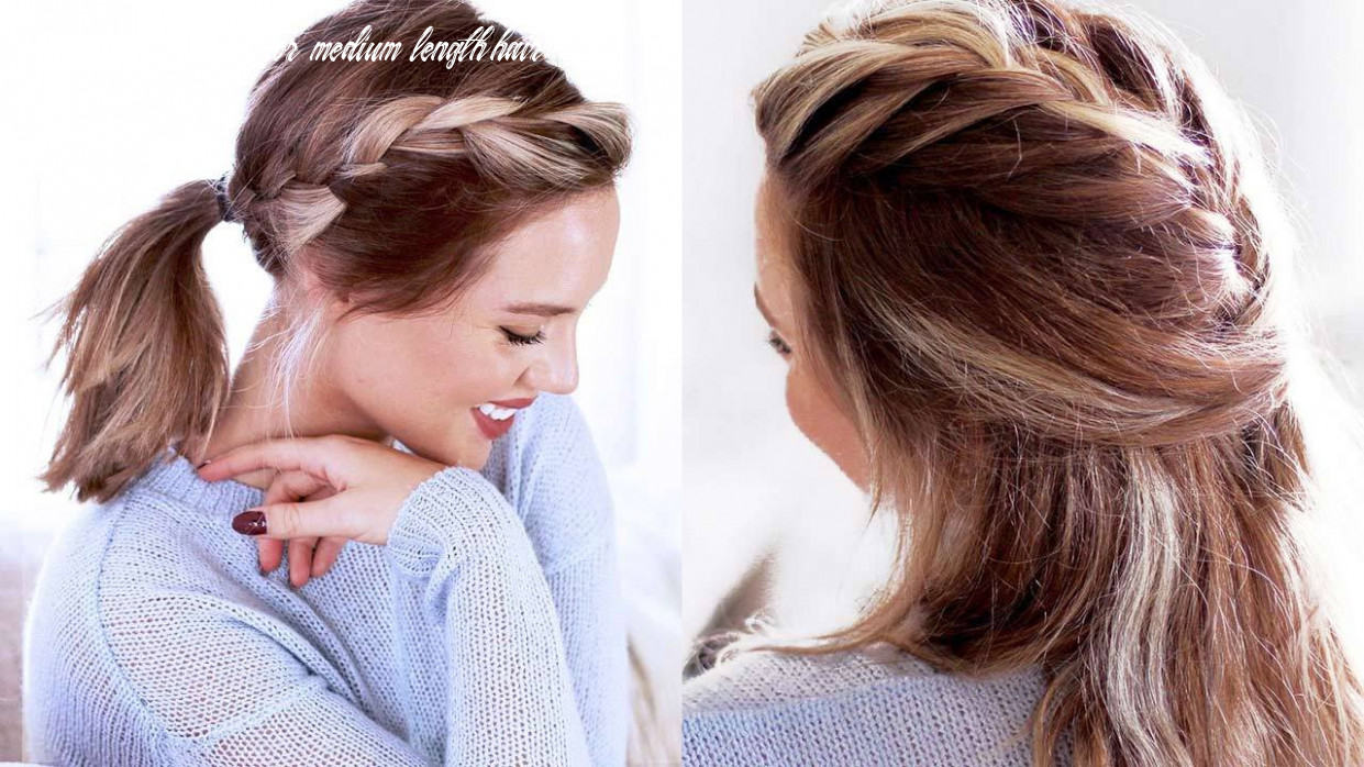Cute Hairstyles For Short Hair and Medium Length Hair