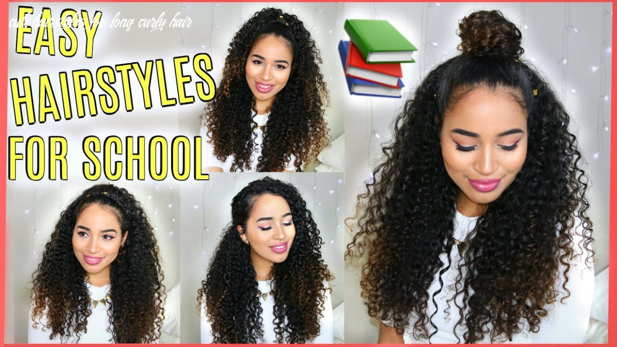 Cute hairstyles with curls for school cute hairstyles for long curly hair
