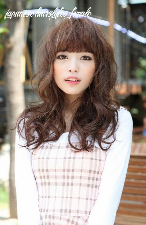 Cute japanese hairstyle with bangs | japanese hairstyle