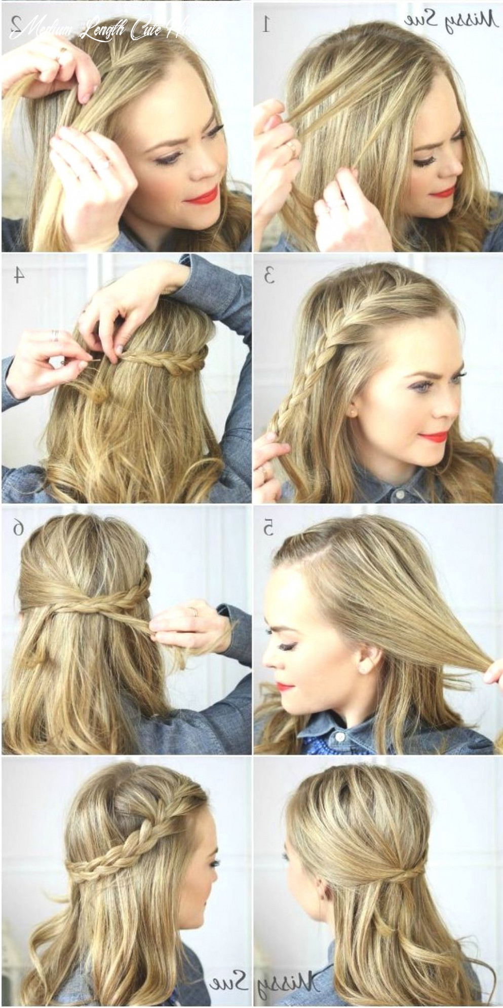Cute quick hairstyles medium lengths ten medium length hairstyles