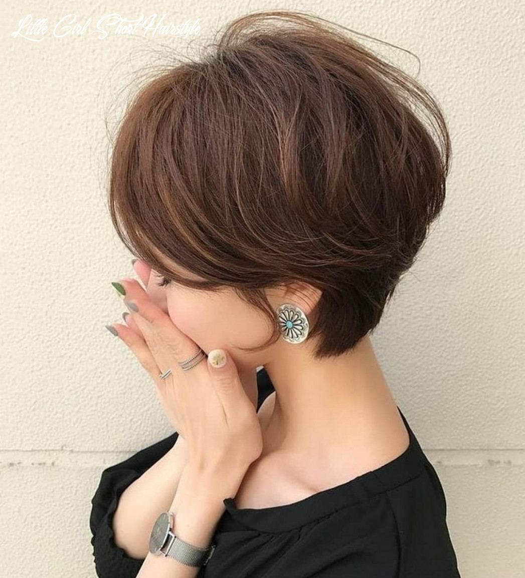 Cute Short Hairstyles and Haircuts for Young Girl - PoPular Haircuts