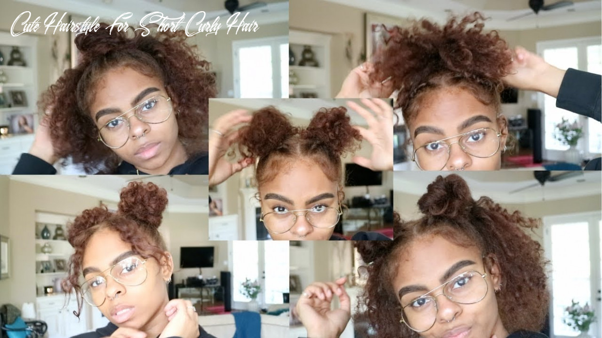 Cute summer hairstyles for short curly hair cute hairstyle for short curly hair