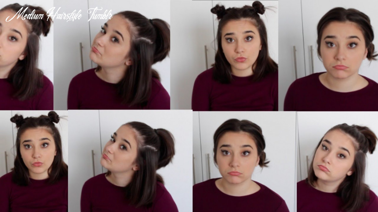 Cute tumblr inspired hair styles | short hair medium hairstyle tumblr