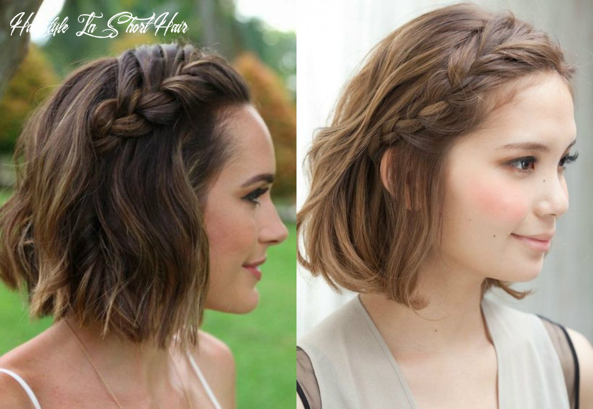 Cutest braids for short hair to try today   braids for short hair