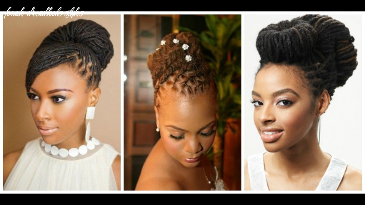 Daring and creative hairstyles with dreadlocks for women youtube female dreadlocks styles