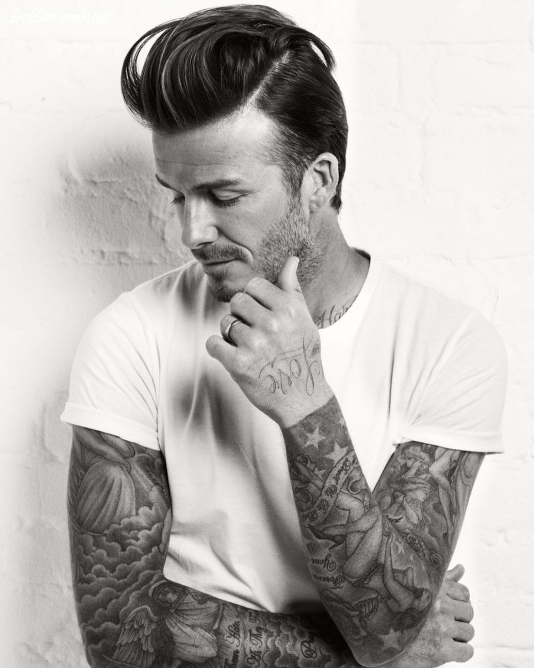 David beckham | david beckham, undercut hairstyles, celebrity