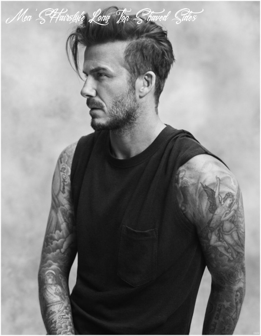 David beckham hairstyle evolution pictures throughout mens