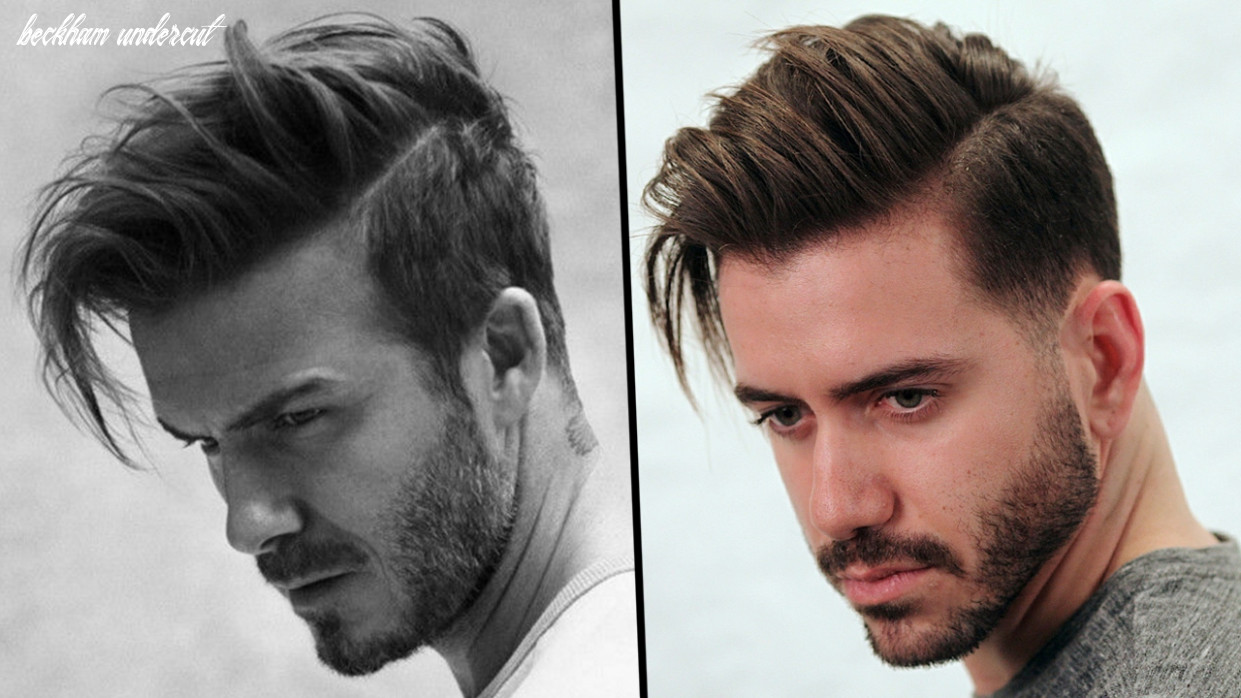 David beckham hairstyle tutorial | how to style men's hair 12 | alex costa beckham undercut