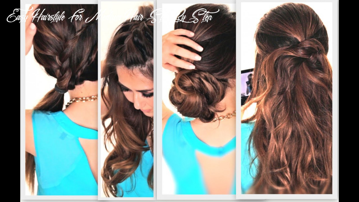 Debora hair style 11: easy hairstyles to do yourself for long hair easy hairstyle for medium hair step by step