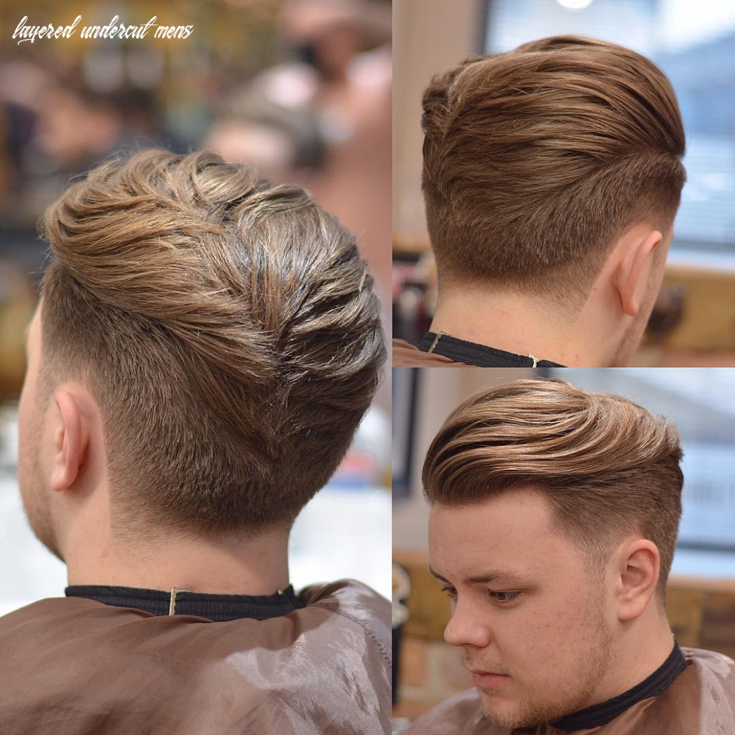 Disconnected Layered Undercut - MENHAIRDOS