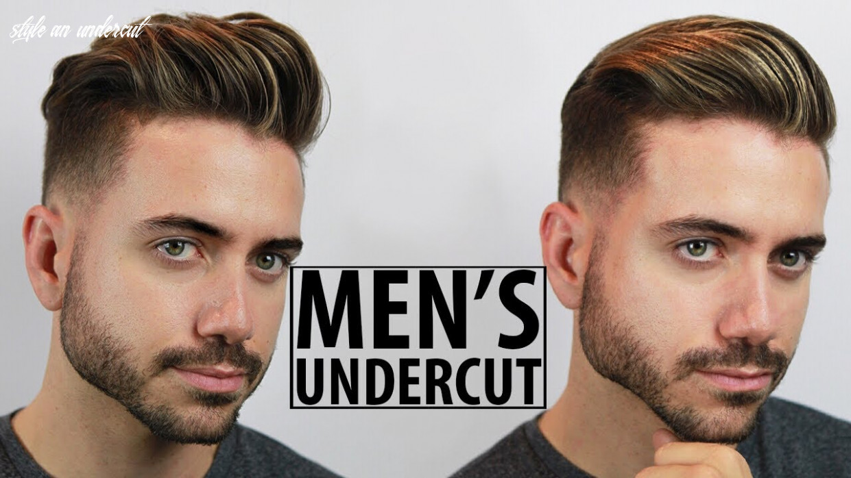 Disconnected undercut haircut and style tutorial | 8 easy undercut hairstyles for men | alex costa style an undercut