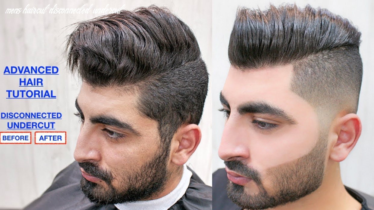 DISCONNECTED UNDERCUT ★ MEN'S HAIRCUT & HAIRSTYLE★ FACE WAXING & BEARD  TRIMMING | HAIR STYLE viral✔️