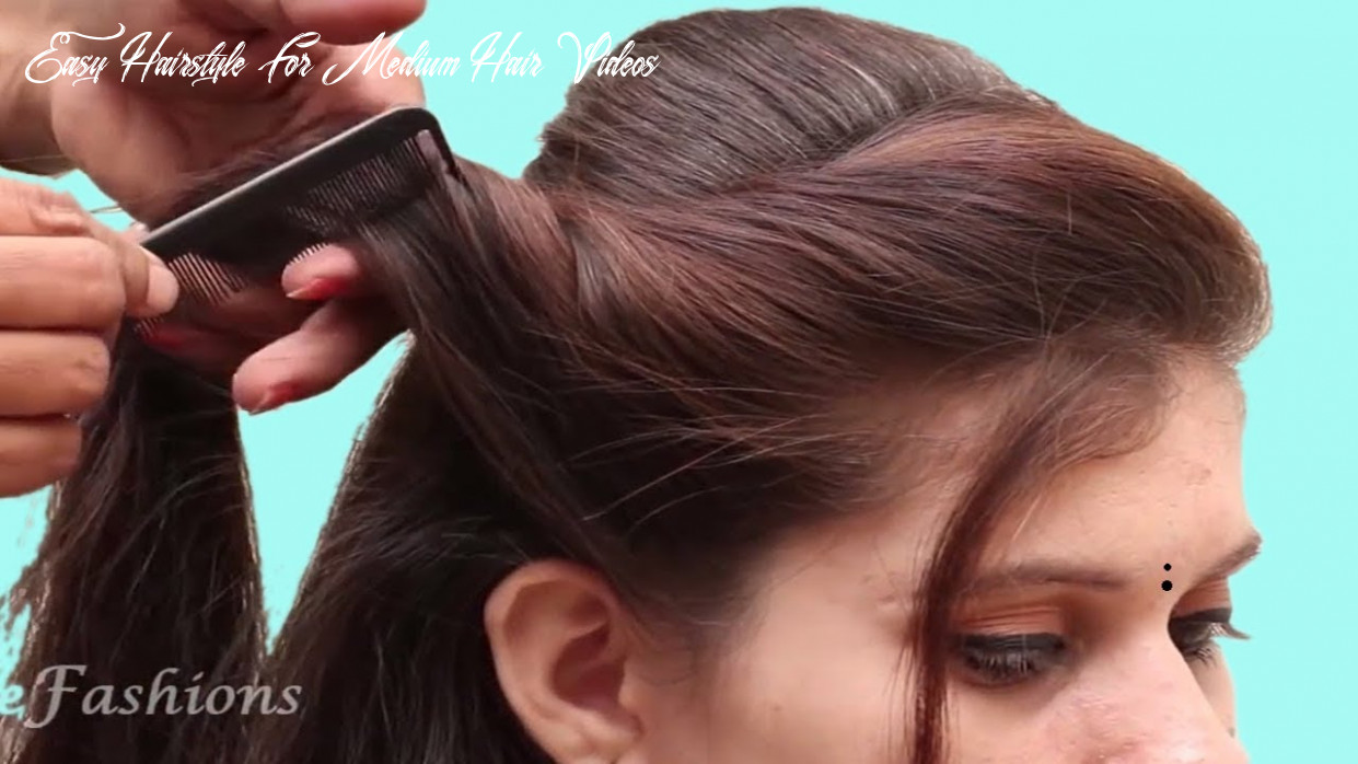 Diy simple & easy hairstyles tutorials | quick hairstyles videos | hair style girls easy hairstyle for medium hair videos
