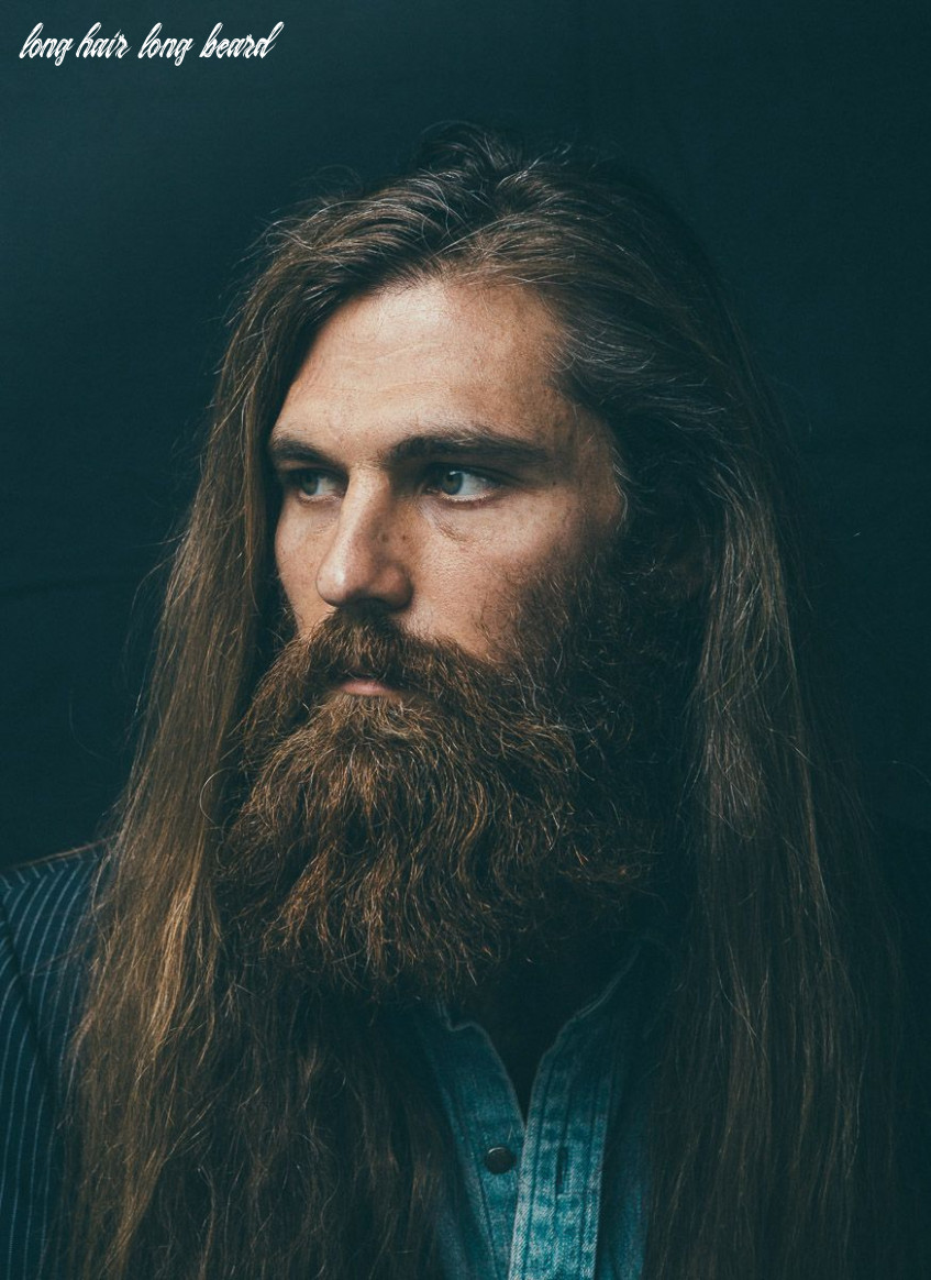 Dream would be to find a model with hair this long and a beard