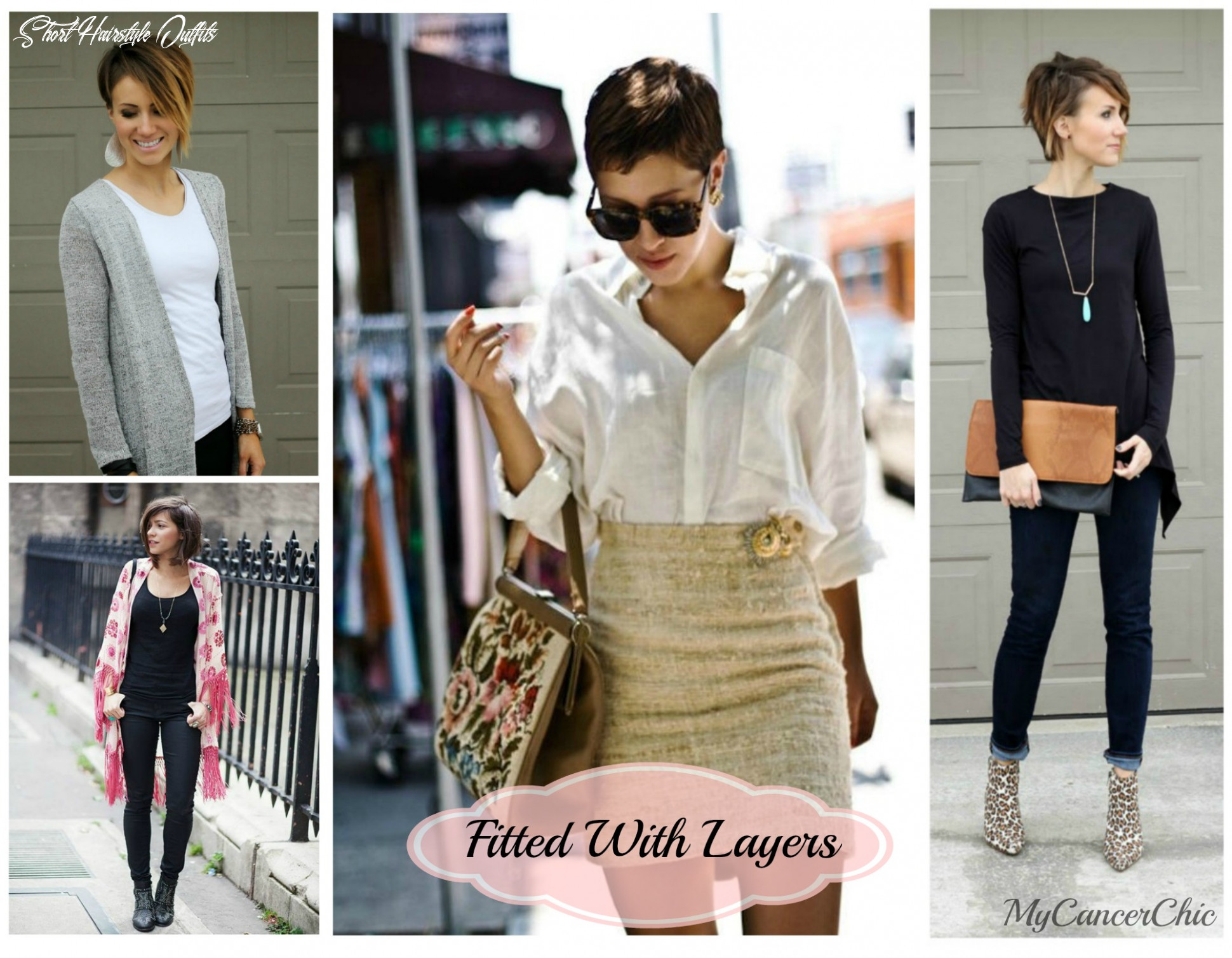 Dressing for short hair lacuna loft short hairstyle outfits
