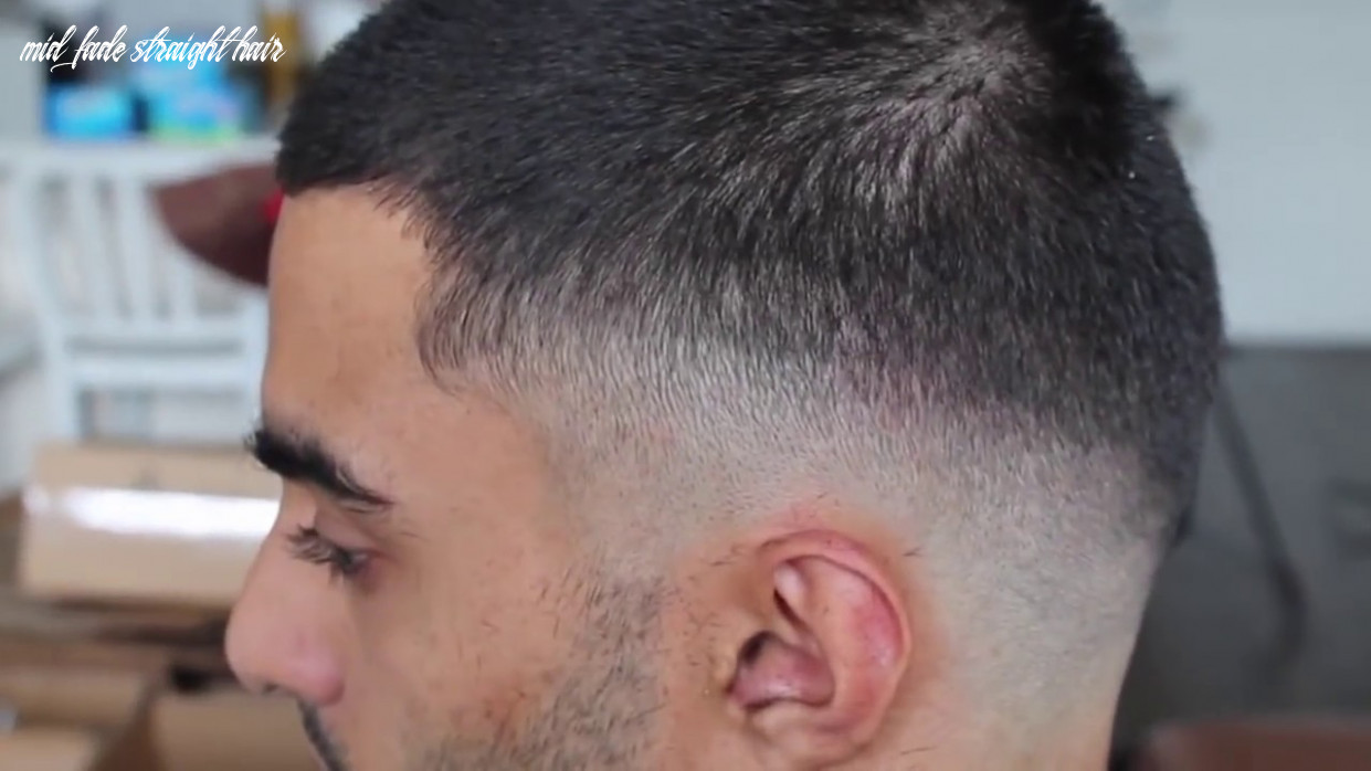 Drop fade tutorial on straight hair | barber style directory mid fade straight hair