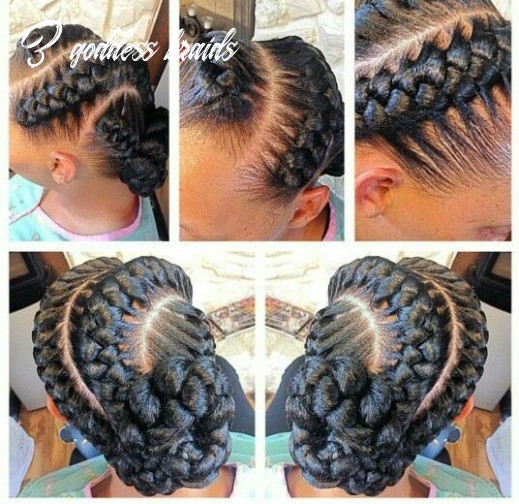 Easy and quick goddess braids to look cute health thoroughfare 3 goddess braids