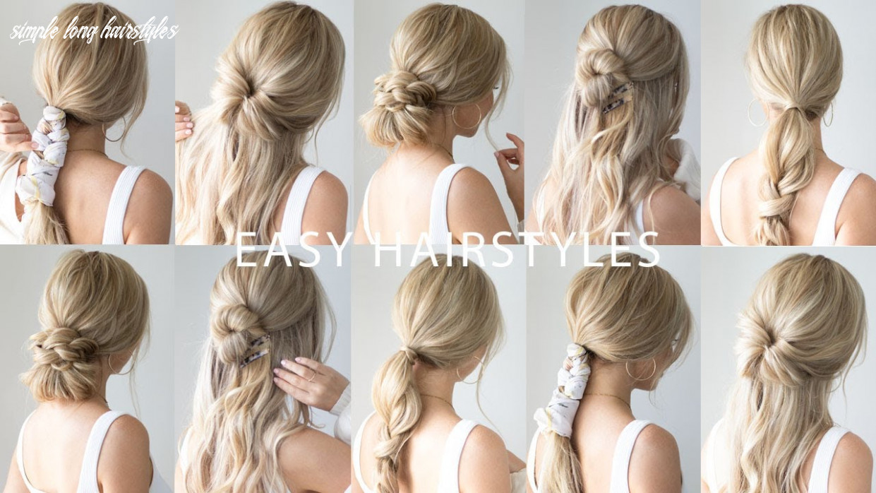 Easy back to school hairstyles 🍎 everyday hairstyles simple long hairstyles