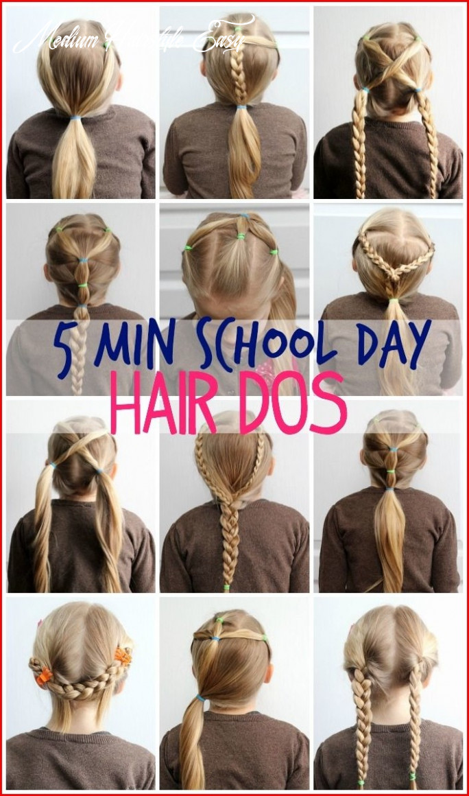 Easy Cute Hairstyles for Medium Hair to Get You Ready only in 8 ...