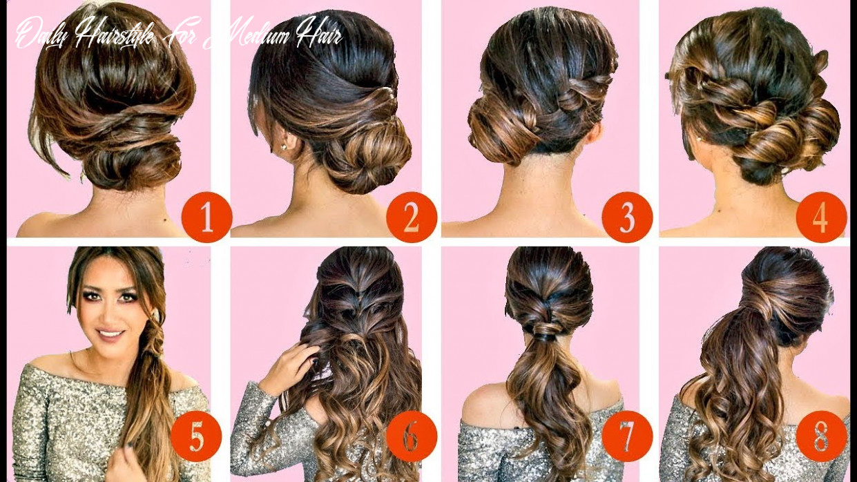 Easy daily hairstyles hairstyles for women daily hairstyle for medium hair