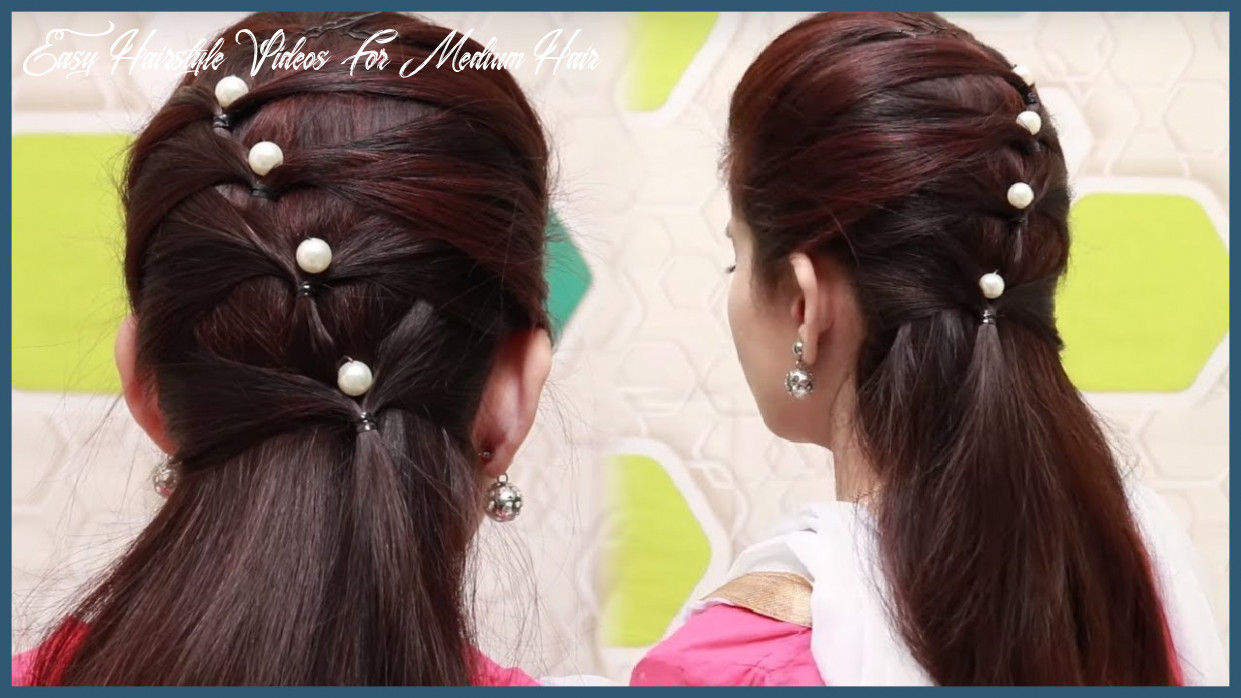 Easy hairstyle video 10 beautiful hairstyle for long hair â