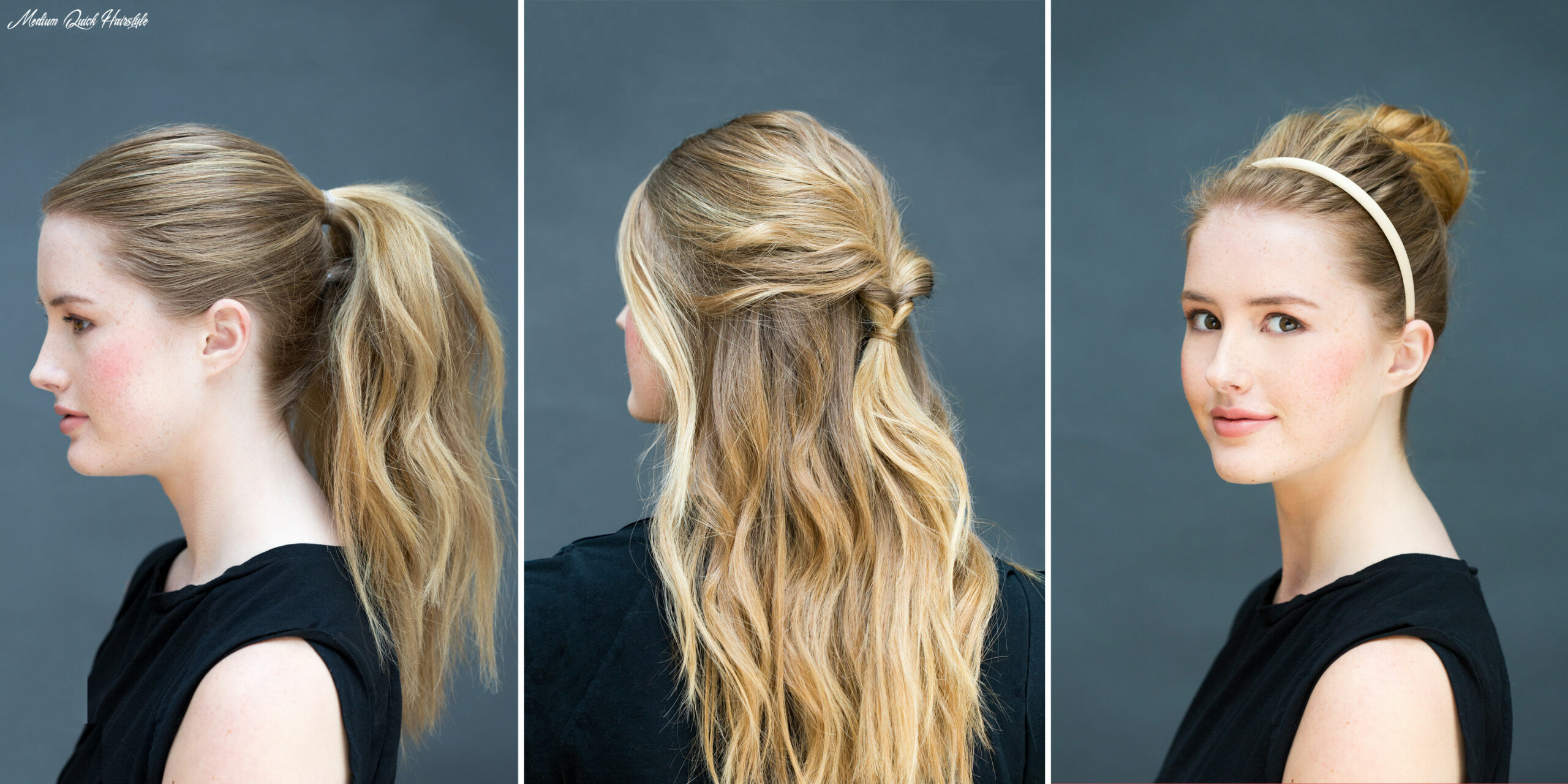 Easy hairstyles for medium hair trends in 9 medium quick hairstyle