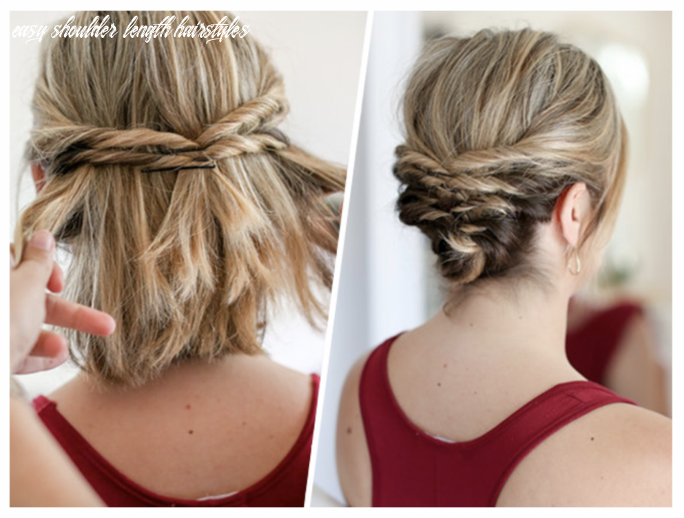 Easy Hairstyles for Short to Medium Length Hair - See Mama Go