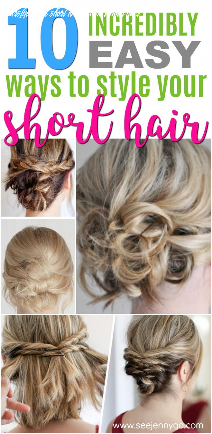Easy Hairstyles for Short to Medium Length Hair | Short hair ...