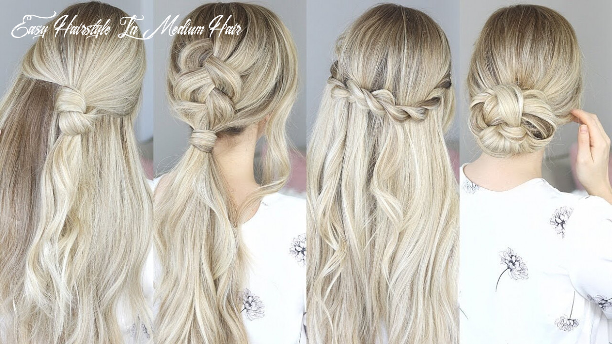 Easy hairstyles for spring! perfect for medium hair and long hair easy hairstyle in medium hair