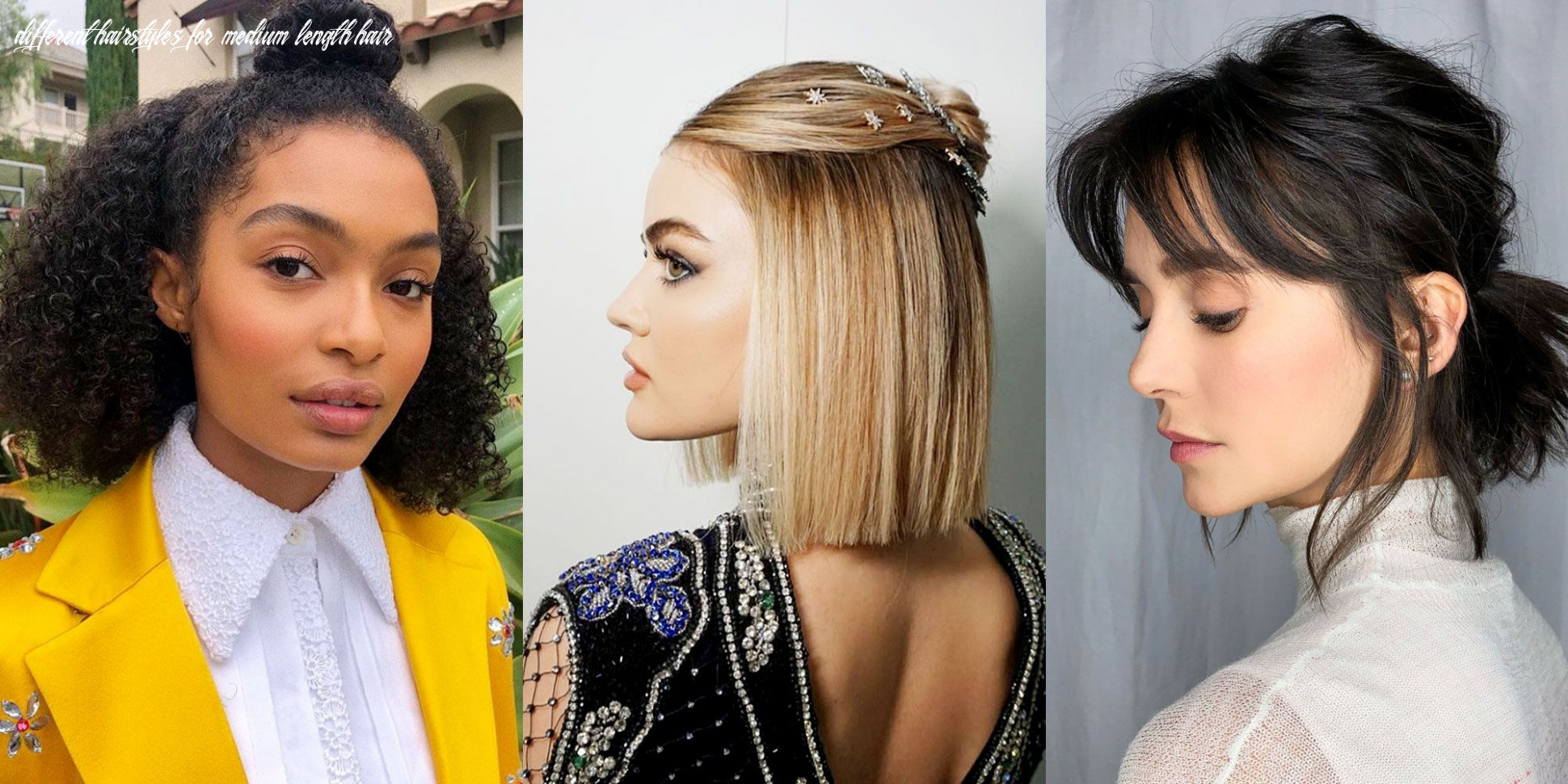 Easy medium hairstyles how to style mid length and shoulder