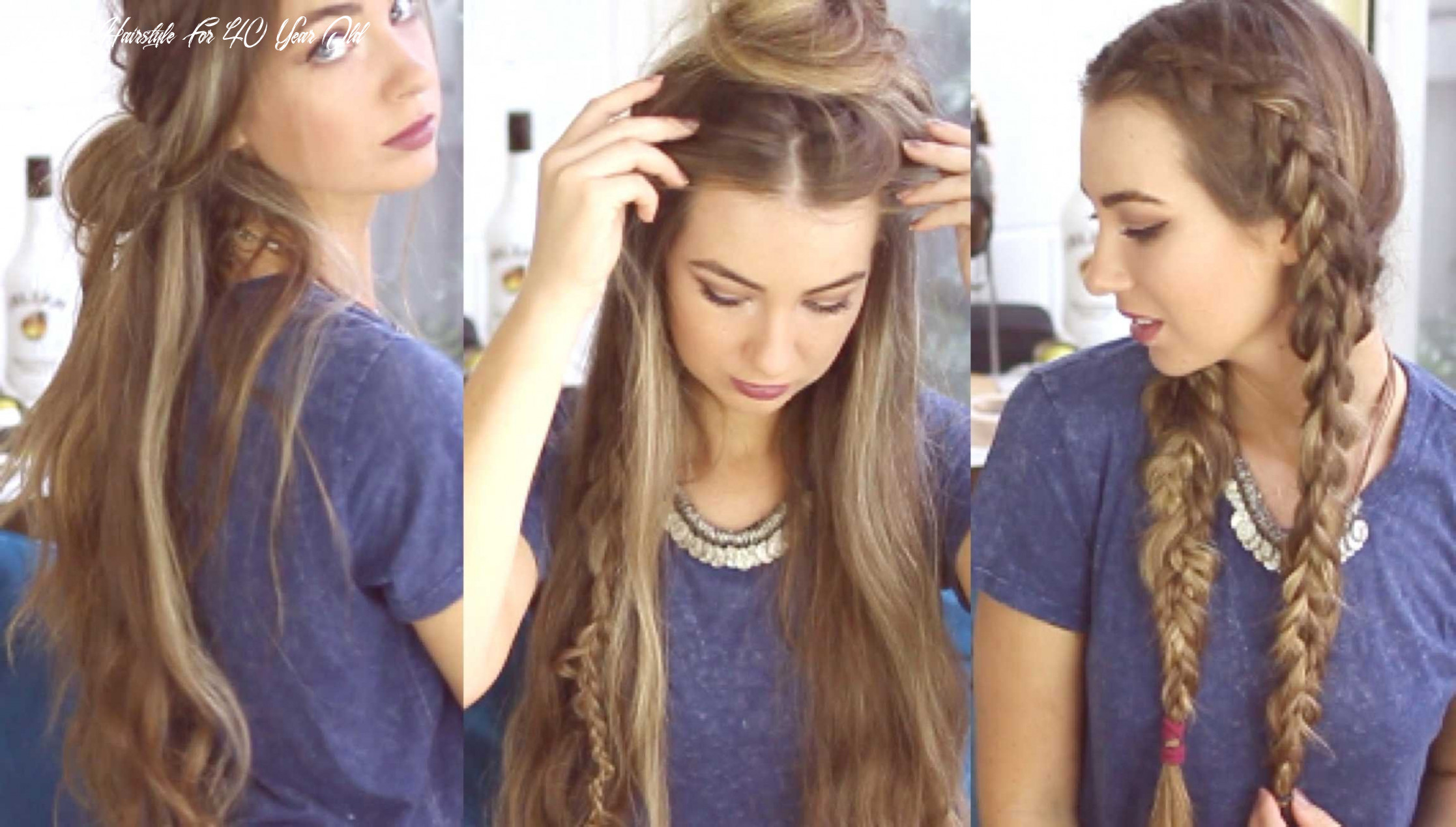 Easy Medium Length Hairstyles Unique 11 Lovely Long Hairstyles for ...